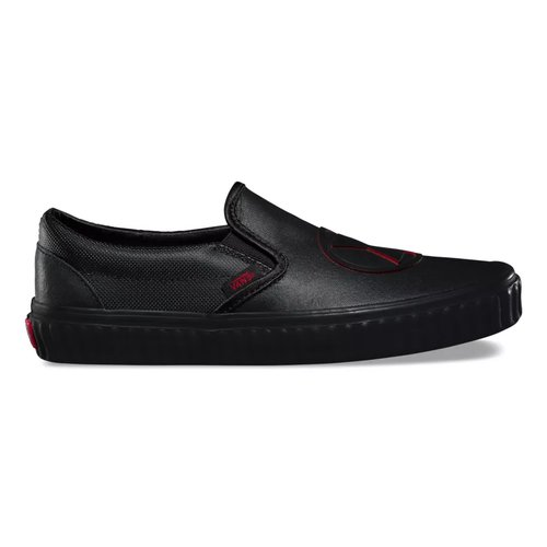 Vans X Marvel Slip On Black Widow Black