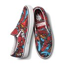 Vans X Marvel Slip On Spider-Man Black