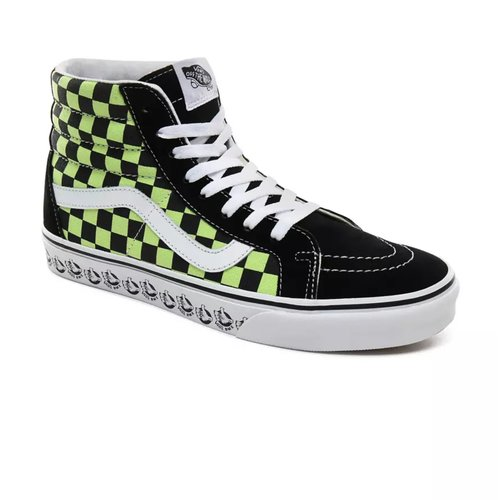 Vans Sk8 Hi Reissue (BMX) Black/Sharp Green