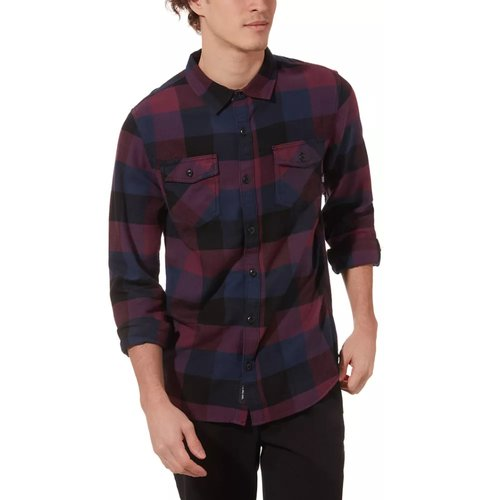 Vans Box Flannel Hemd Prune-Dress Blues