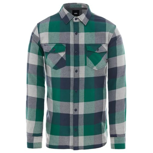 Vans Box Flannel Hemd Evergreen Grey Heather