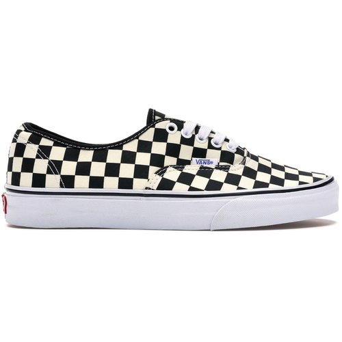 Vans Authentic (Golden Coast) Black/White Checkerboard