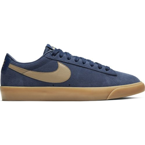 Nike SB Blazer Low GT Midnight Navy/Khaki Gum
