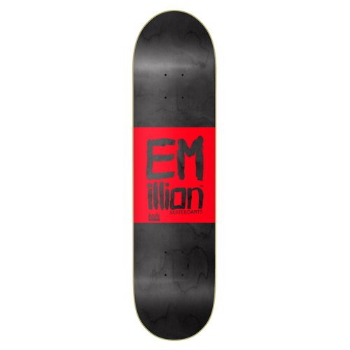 Emillion Roots Series 8.25 Deck Black-Red