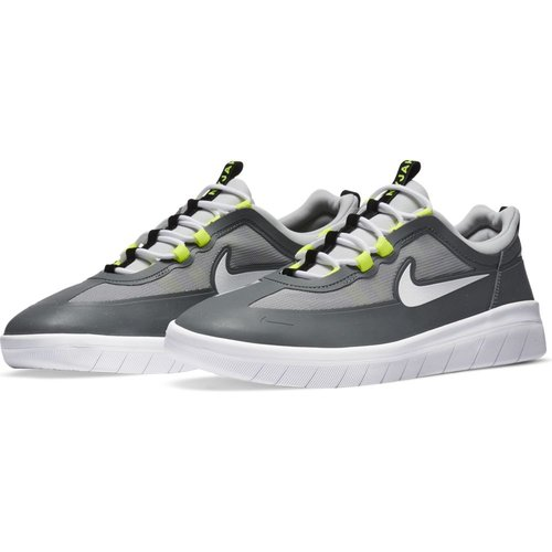 Nike SB Nyjah Free 2  Grey/White-Lt Smoke Grey