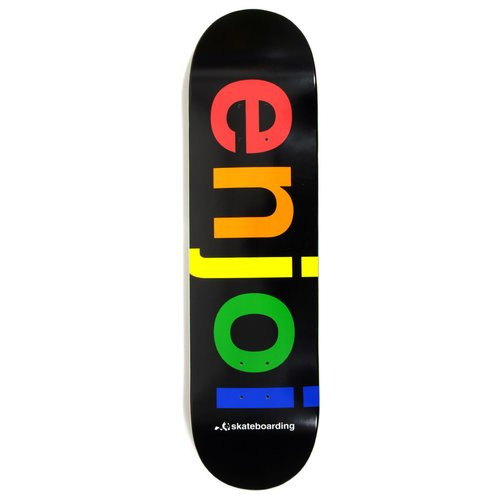 Enjoi Team Spectrum Black 8.25 R7