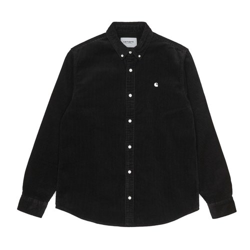 Carhartt Wip Madison Cord Hemd Shirt Black/Wax