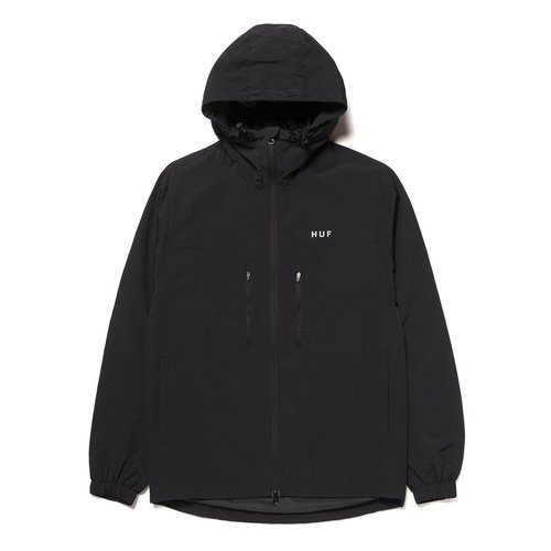 HUF Essentials Zipper Standard Shell Black