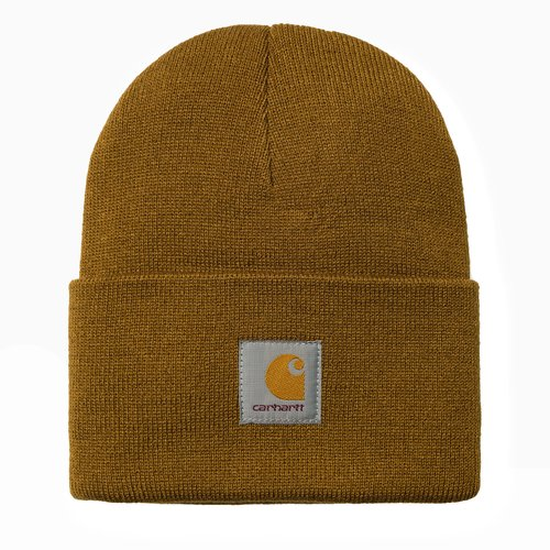 Carhartt Wip Acrylic Watch Hat Beanie Hamilton Brown