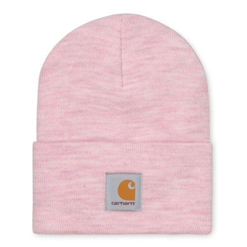 Carhartt Wip Acrylic Watch Hat Beanie Frosted Pink Heather