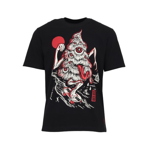Element Tree Ghost T-Shirt Flint Black