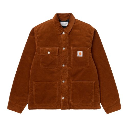 Carhartt Wip Michigan Coat Jacket Brandy Rinsed