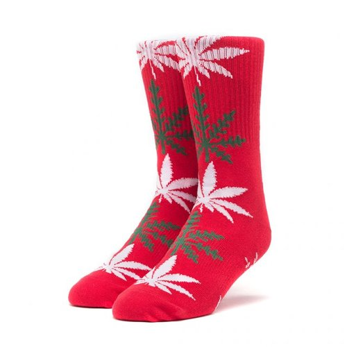 HUF Plantlife Glowfake Socks Red