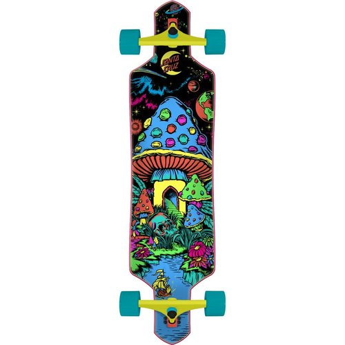Santa Cruz Drop Thru Time Warp Longboard