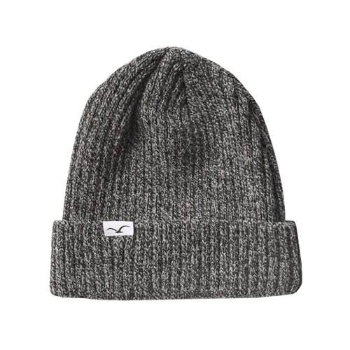 Cleptomanicx Hafen BiColor Beanie Heather Black