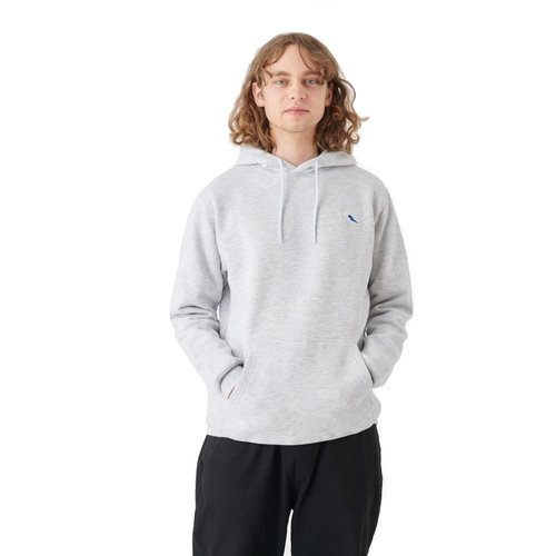 Cleptomanicx Embro Gull 2 Hoodie Light Heather Gray