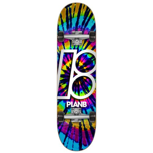 Plan B Team Deep Dye 7.75 Complete Skateboard