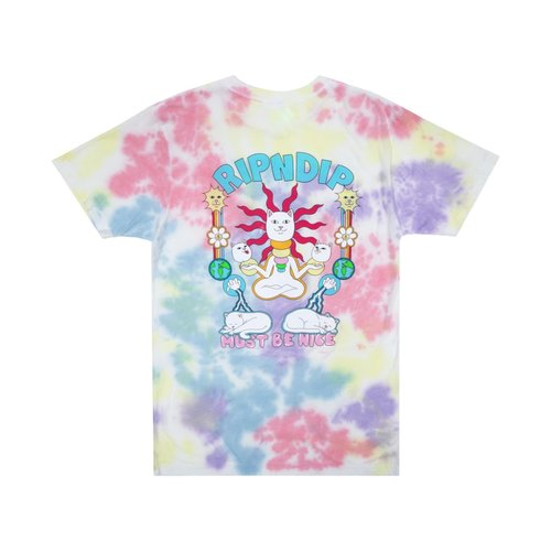 Ripndip Ethernal T-Shirt Peach/Lavender/Tie Dye
